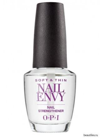 OPI / Укрепляющее средство для ногтей Nail Envy Natural Nail Strengthener For Soft,Thin Nails, 15 мл