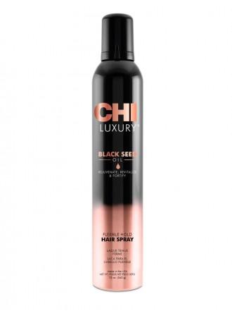 Лак для волос  с маслом семян черного тмина подвижной фиксации 340 г