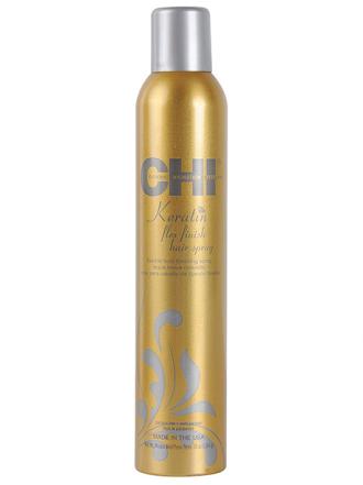 Лак для волос средней фиксации с кератином - Flexible Hold Hairspray 74г