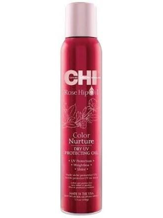 Финишное масло для волос с экстрактом шиповника и защитой от УФ 157 мл.