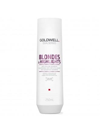 DS BL&HL Шампунь против желтизны для осветленных волос 250 мл.