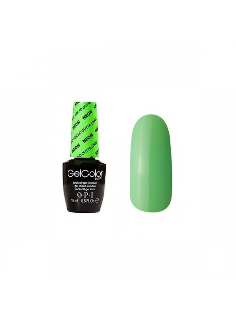 OPI Gelcolor You are So Outta Lime NEON