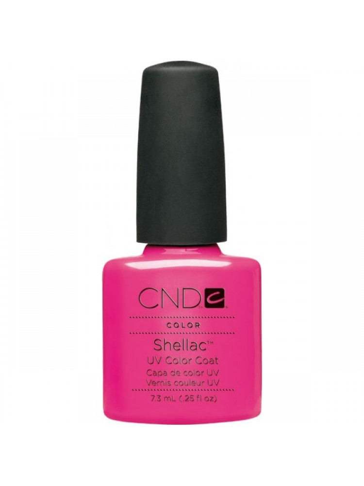 CND Shellac HOT POP PINK №19