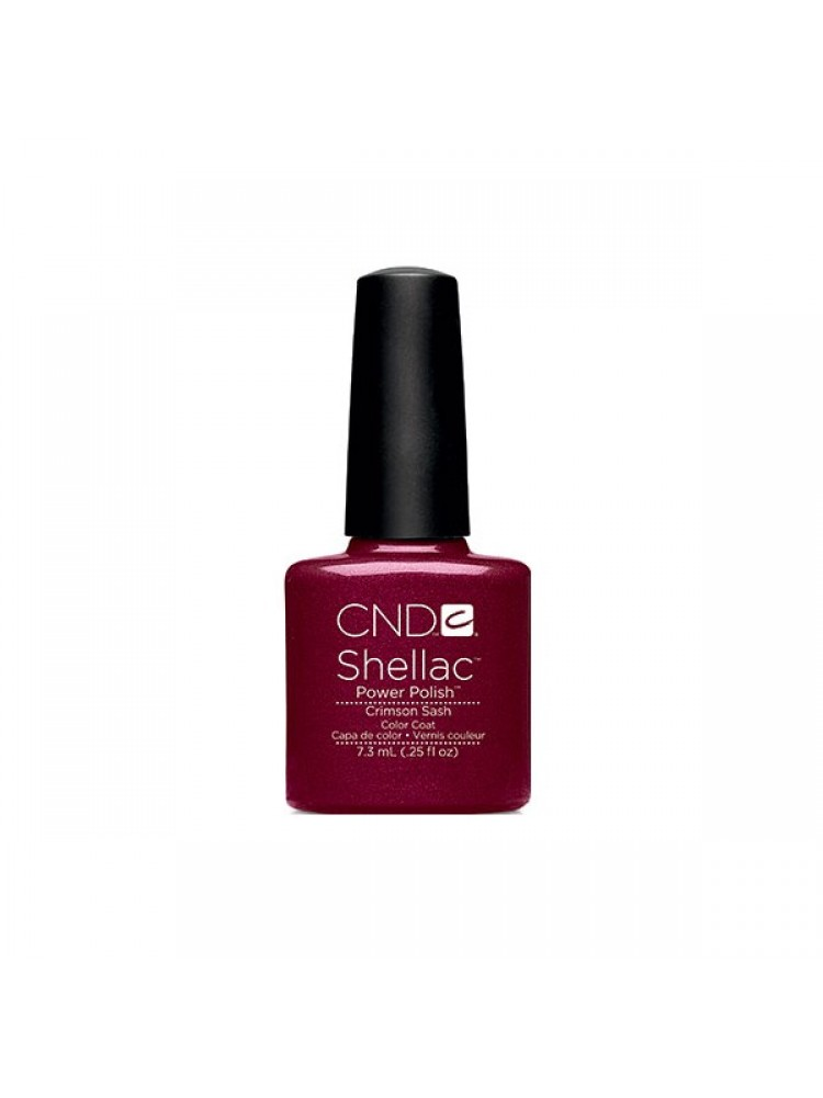 CND Shellac  Crimson Sash  2014 Modern Folklore Collection
