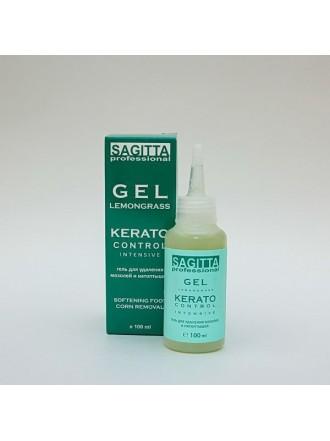 Гель для удаления мозолей и натоптышей GEL LEMONGRASS KERATO Control INTENSIVE 100 ml