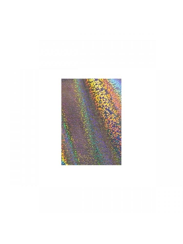 Фольга для дизайна голография серебро