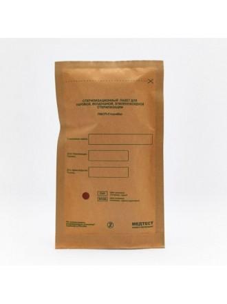 Крафт-пакеты Бумага, Коричневый 75х150 мм, 100 шт/упк