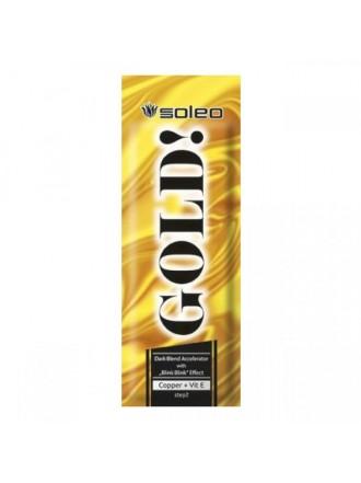 Интенсивный ускоритель загара с золотыми частицами SOLEO Gold 15 мл.