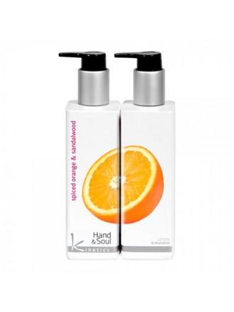 KINETICS Лосьон для рук и тела (Пряный апельсин и Сандаловое дерево)
