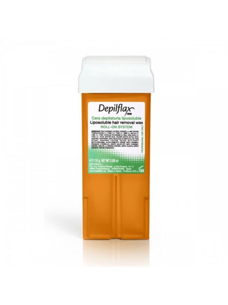 Воск в картридже Depilflax - Морковный