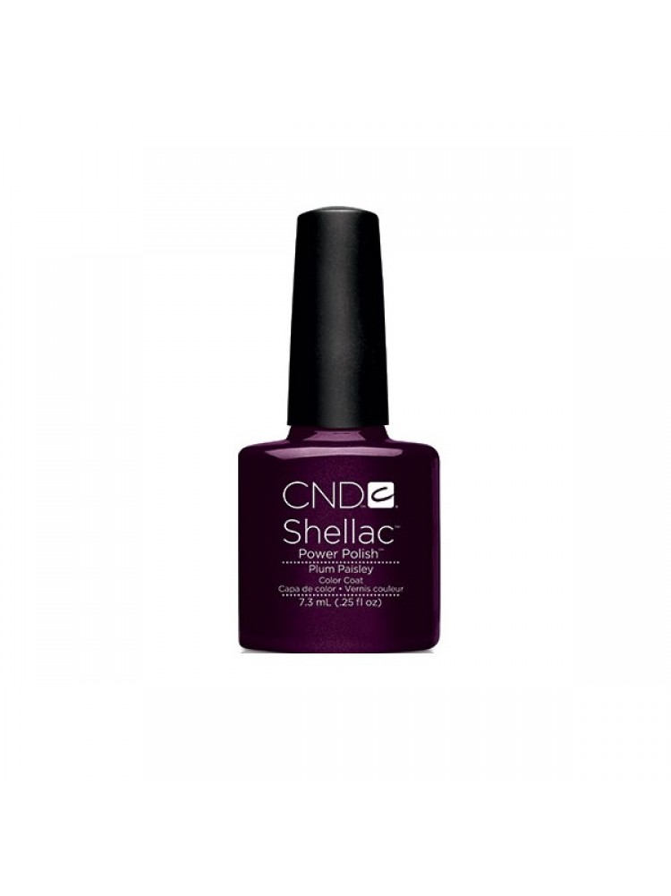 CND Shellac Plum Paisley  2014 Modern Folklore Collection