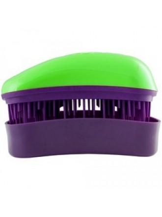 Dessata Hair Brush Green-Purple - Расческа для волос, Зеленый-Фиолетовый