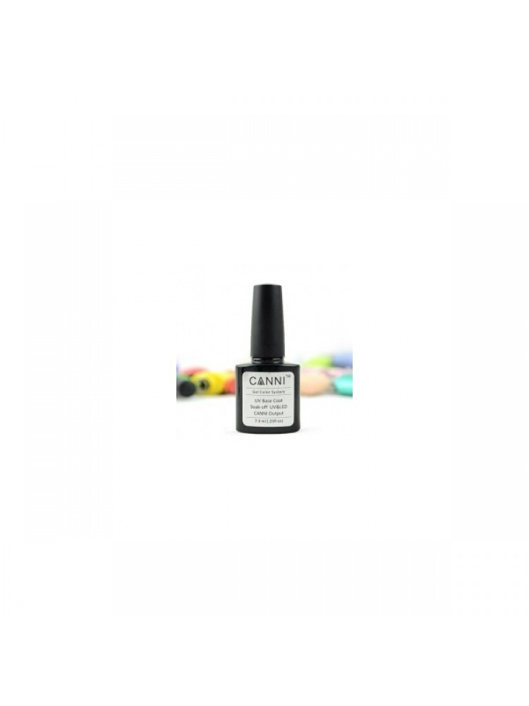 CANNI Gel Color Polish Base Coat 7,3 мл. ( базовое покрытие)