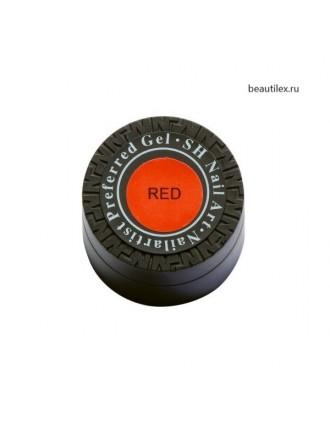 Гель краска Паутинка SH, красный