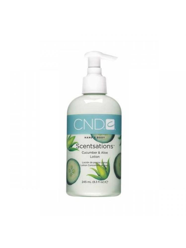 CND Scentsations лосьон с экстрактом огурца и запахом свежести