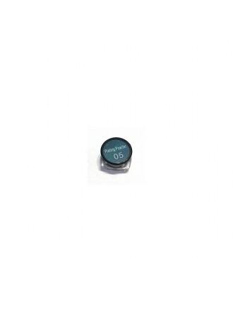 Втирка для зеркального маникюра «Северное сияние» изумрудный, набор , № 05, 1г