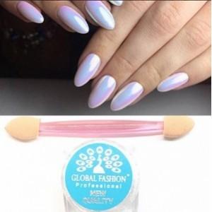 Мерцающая пыль для ногтей «Единорог»