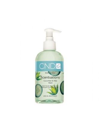 Creative Scentsations Cucumber&Aloe Wash, 245 мл. (Мыло жидкое с экстрактом огурца и запахом свежести)