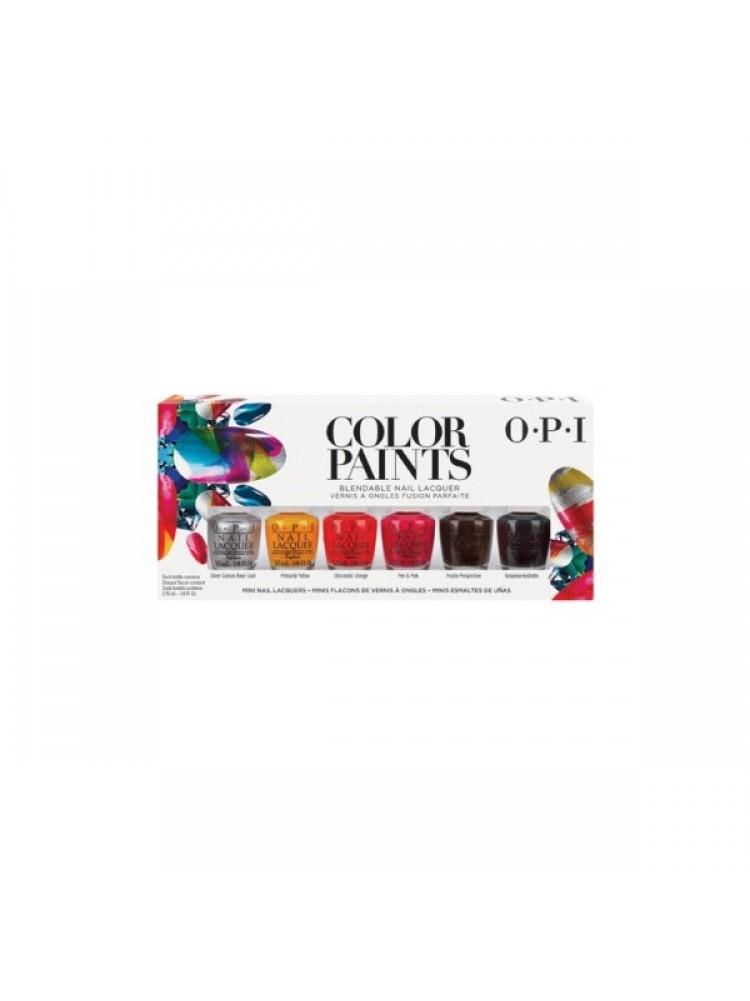 """Промонабор МИНИ лаков """" Color Paints Mini Pack by OPI"""" 6*3.75мл."""