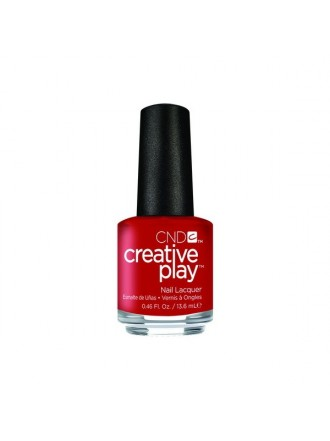 CND Creative Play № 412  Red-Y To Roll 13,6 мл
