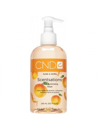 Creative Scentsations Peach&Ginseng Wash, 245 мл. (Мыло жидкое с экстрактом женьшеня и запахом персика)
