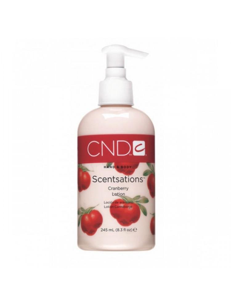 CND Scentsations лосьон с экстрактом Алоэ Вера и запахом клюквы