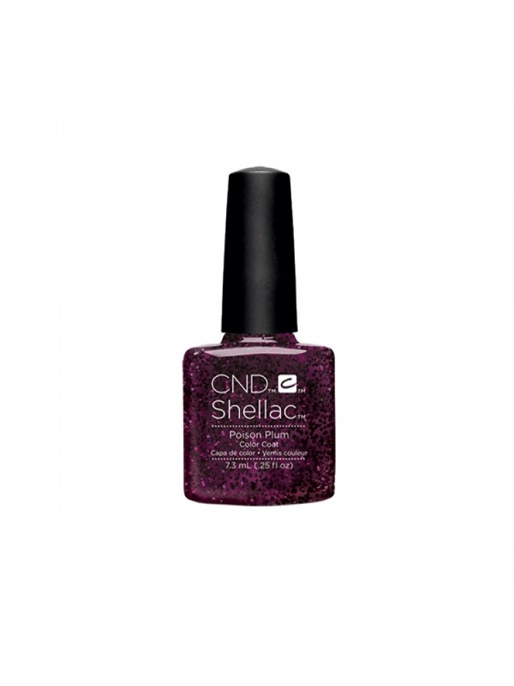 CND Shellac Poison Plum