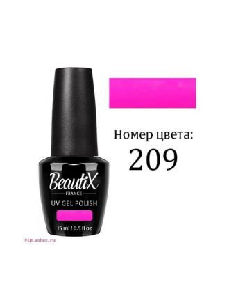 ГЕЛЬ - ЛАК BEAUTIX  №209  15ML