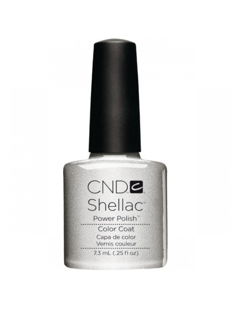 CND Shellac SILVER CHROME №32