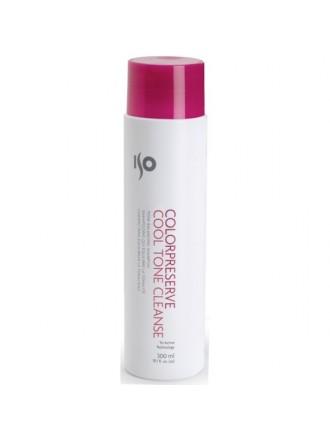 ISO Color Preserve Cool Tone Cleanse - Шампунь для окр. волос - Холодный тон, 300 мл