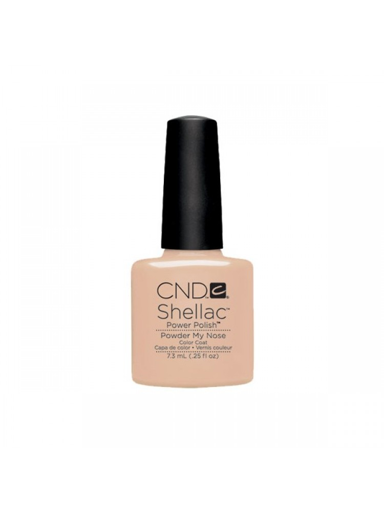 CND Shellac Open Road Collection Powder My Nose