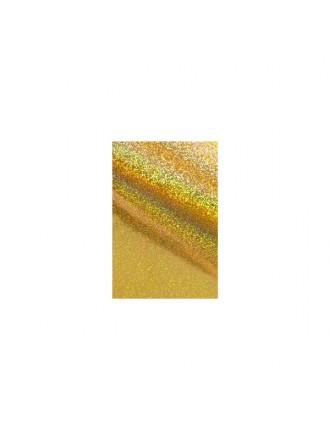 Фольга для дизайна голография золото