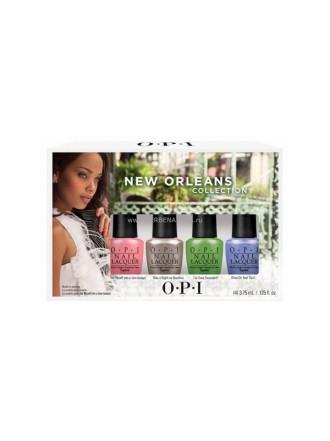 "OPI МИНИ Лаки ""New Orleans Jambala Yettes"" (4*3,75мл) (NL N57 N59.N60.N62)"
