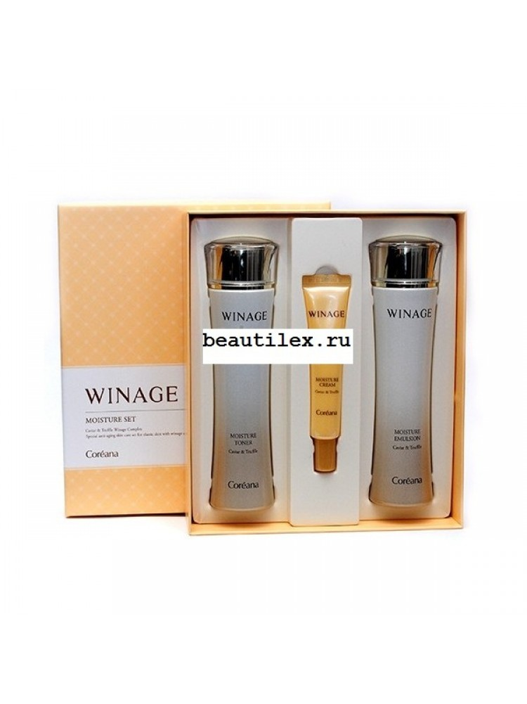 Coreana WinAge Moisture Set