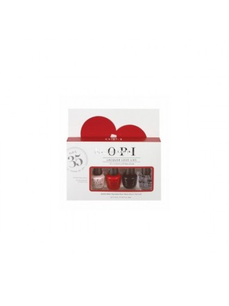 OPI Набор МИНИ лаков OPI «Lacquer Love-lies» 4*3.75 (NLS86, NLN25, NLT02+ NTT30)