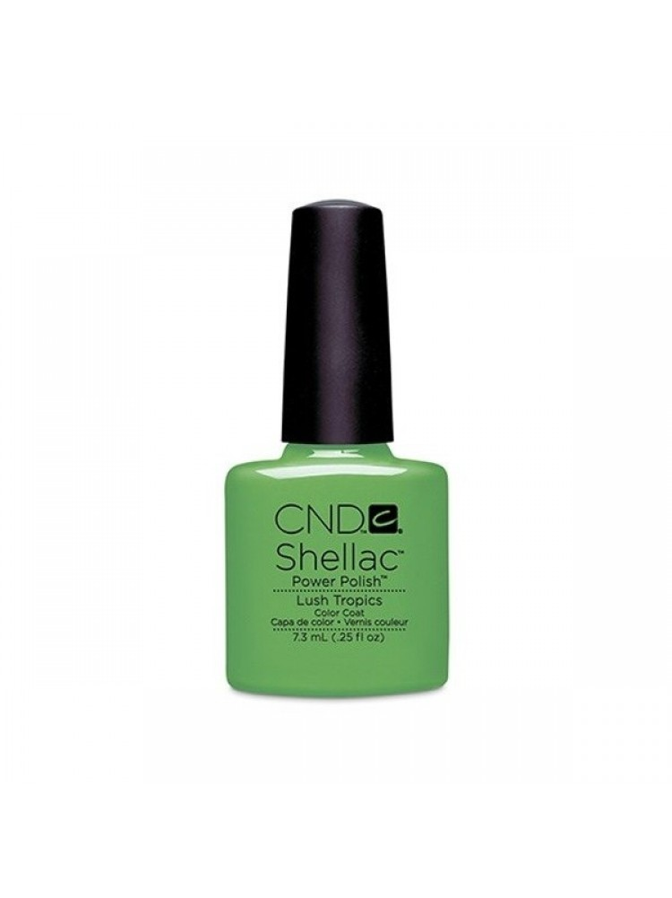 CND Shellac Lush Tropics PARADISE COLLECTION 2014