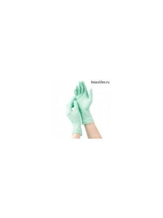 mediOk, Перчатки нитриловые - Цвет зеленый (р-р S, 50 пар в уп.)