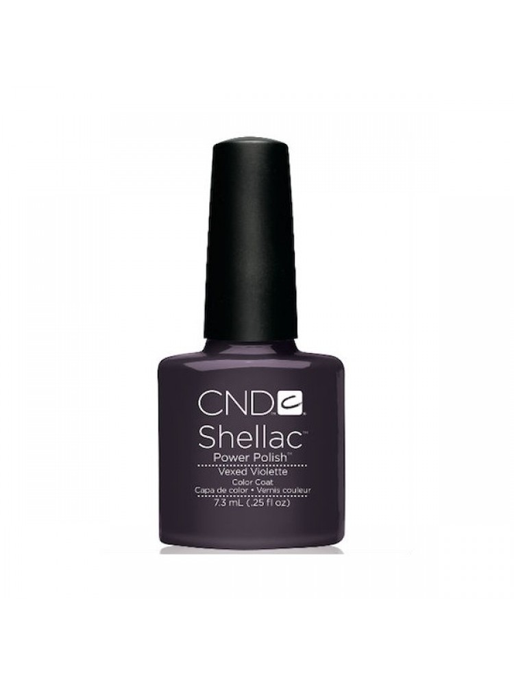 CND Shellac VEXED VIOLETTE №45