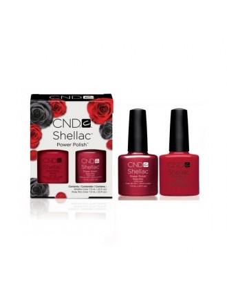Набор CND Shellac Perfect Pair Wildfire And Ruby Ritz