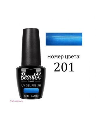 ГЕЛЬ - ЛАК BEAUTIX № 201 15ML