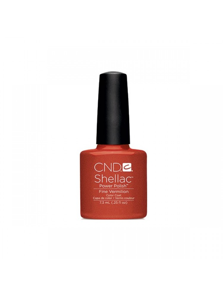CND Shellac Fine Vermilion  2014 Modern Folklore Collection