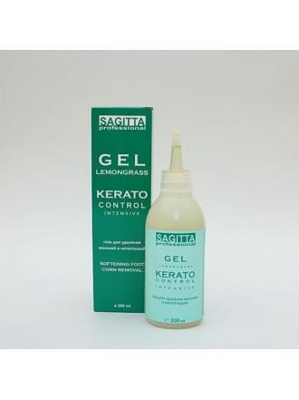 Гель для удаления мозолей и натоптышей GEL LEMONGRASS KERATO Control INTENSIVE 200 ml