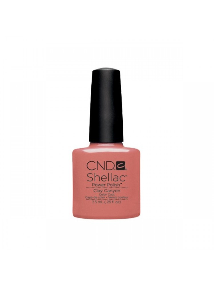 CND Shellac Open Road Collection Clay Canyon
