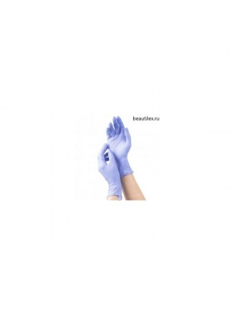 mediOk, Нитриловые неопудренные перчатки - Цвет голубой (cornflower blue, р-р M, 50 пар в уп.)