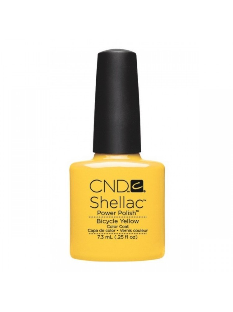 CND Shellac -Bicycle Yellow PARADISE COLLECTION 2014