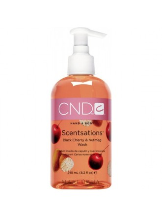 Creative Scentsations Black Cherry&Nutmeg Wash, 245 мл. (Мыло жидкое с экстрактом мускатного ореха и запахом черешни)