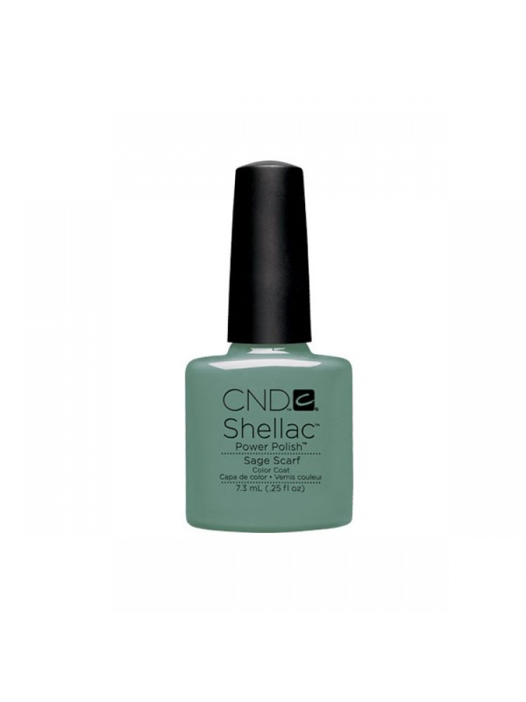 CND Shellac Open Road Collection Sage Scarf