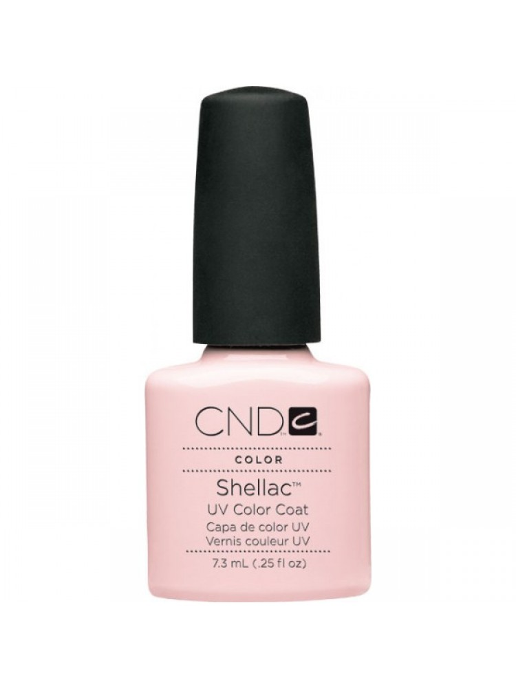 CND Shellac CLEARLY PINK №23