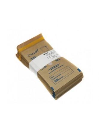 Крафт пакеты для стерилизации Винар Стерит 100 штук 100х200 мм (коричневые)