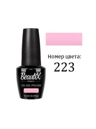 ГЕЛЬ -ЛАК BEAUTIX № 223, 15 ML